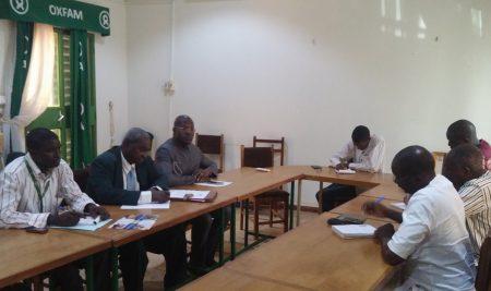 Rencontre ISSH – OXFAM Burkina