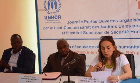 Journée «portes ouvertes»UNHCR- ISSH sur la protection des réfugiés