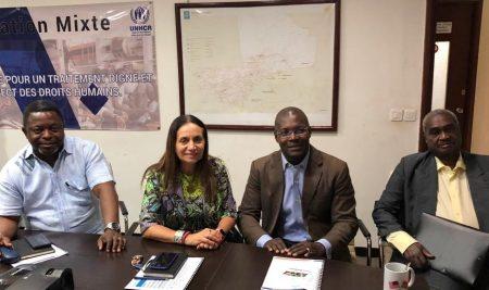 Audience avec la Représentation nationale de l'UNHCR