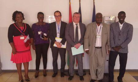 Audience avec le Service de coopération et d'action culturelle de l'Ambassade de France